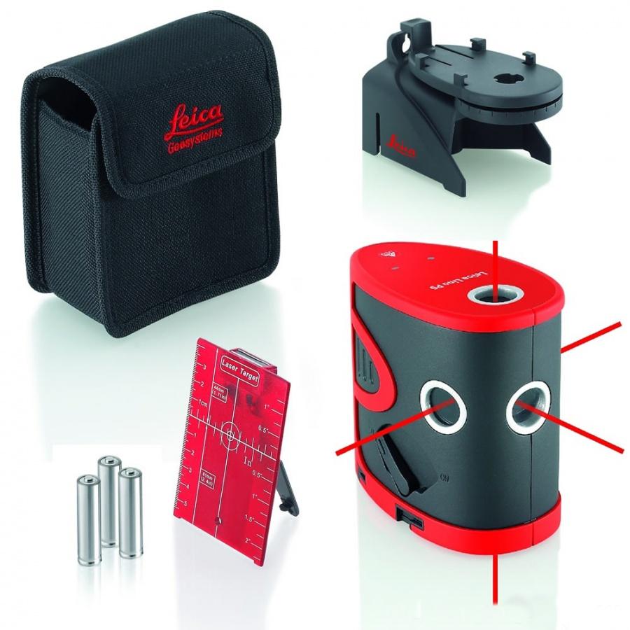 Livella laser Leica Lino P5
