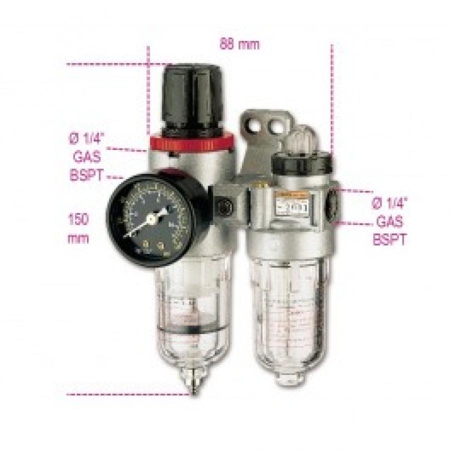 filtro regolatore beta 1919FE/14 per trattamento aria compressa