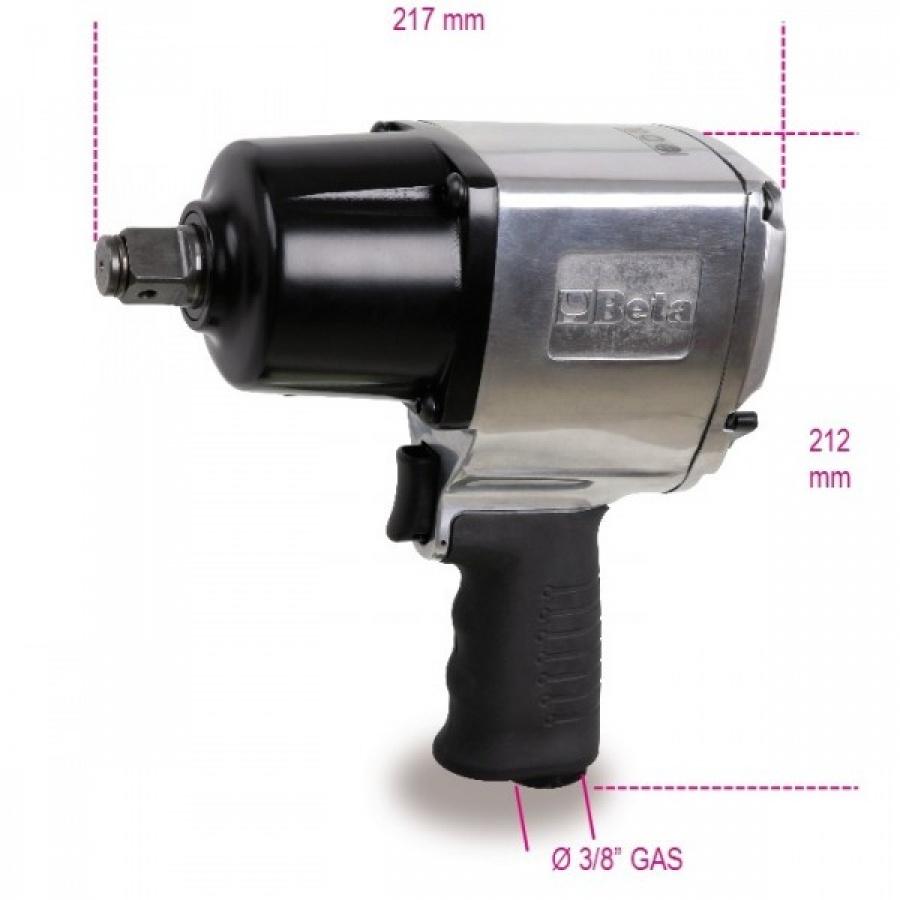 """avvitatore reversibile beta 1928DA a meccanismo impulsivo doppio martello e 1695 Nm e 3/4"""""""
