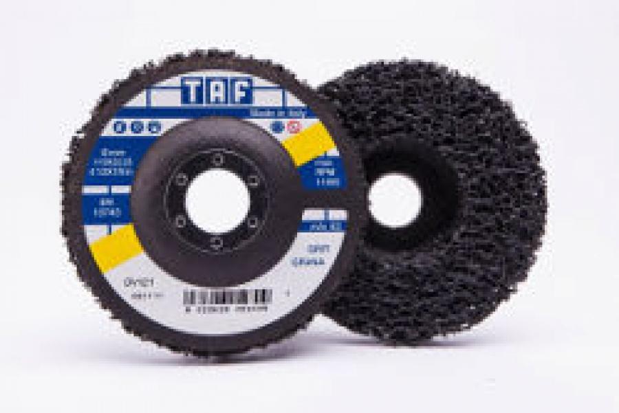 Dischi Politaf Dark per Sverniciatura e Decapaggio Taf DV121 mm. 115