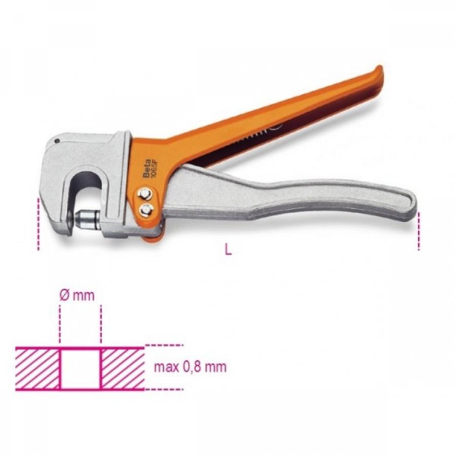 pinza foralamiera beta 1065f 6mm