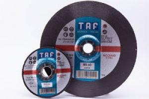 Cf. Dischi Mola Acciaia, Inox e Ghise Taf BIS60 mm. 115x6,5 pz. 5