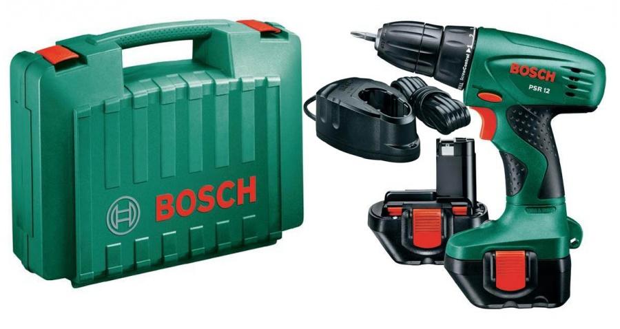 Trapano avvitatore Bosch PSR 12 Hobby