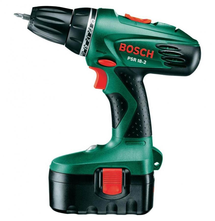 Trapano avvitatore Bosch PSR 18-2 Hobby