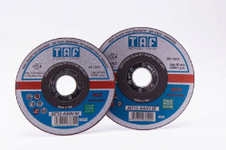 Cf. Dischi per Smerigliatrici Taglio  Acciaio Inox Taf MT24 mm. 115x1,6 pz. 5
