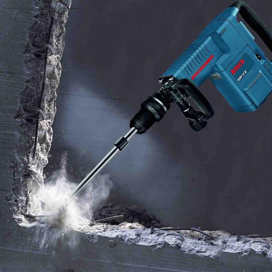 Utilizzo artello demolitore Bosch GSH 11 E Professional
