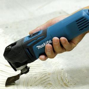 rimozione colla utensile multifunzione makita tm3010cx