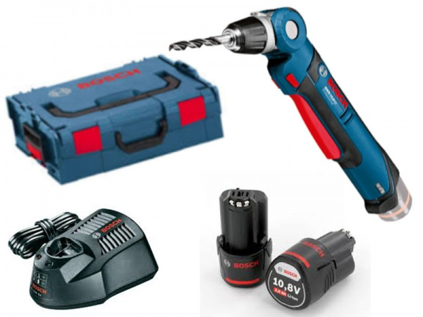 immagine Trapano avvitatore angolare Bosch GWB 10,8-LI Professional con batteria