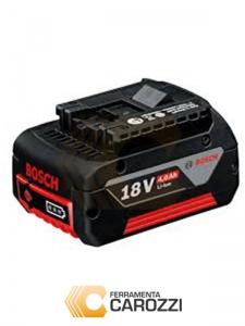Disegno batteria Li-Ion 18 V Bosch GBA O-B Professional