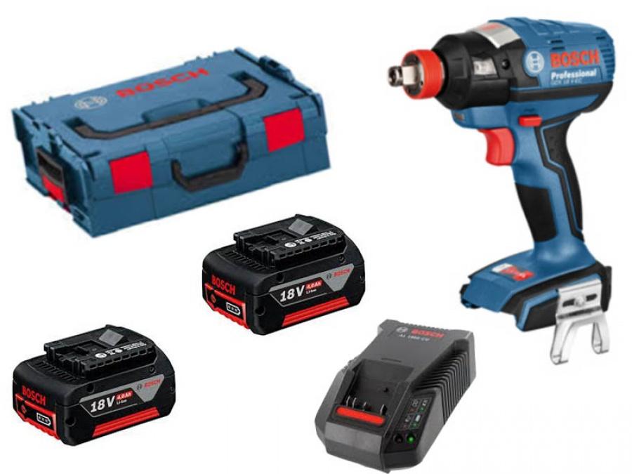 immagine Trapano avvitatore Bosch GDX 18 V-EC Professional con batteria