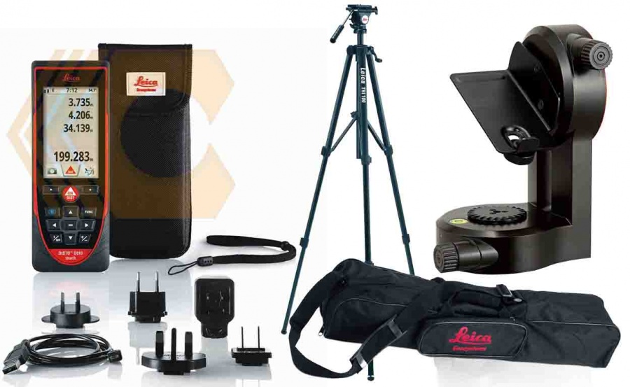 Kit misuratore laser Leica Disto D810
