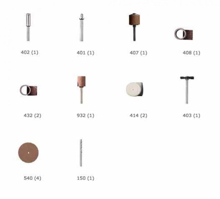 15 accessori dremel