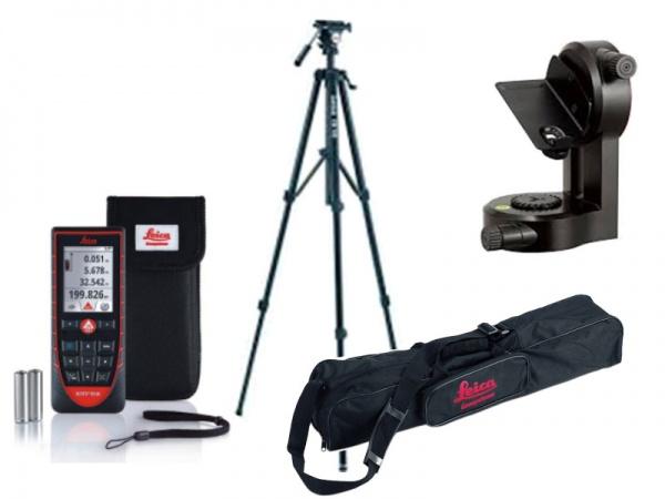 immagine Kit misuratore laser Leica Disto D510 con adattatore e treppiede