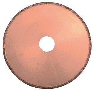 Disegno disco diamantato Comet con corona continua per marmo e fibra di vetro