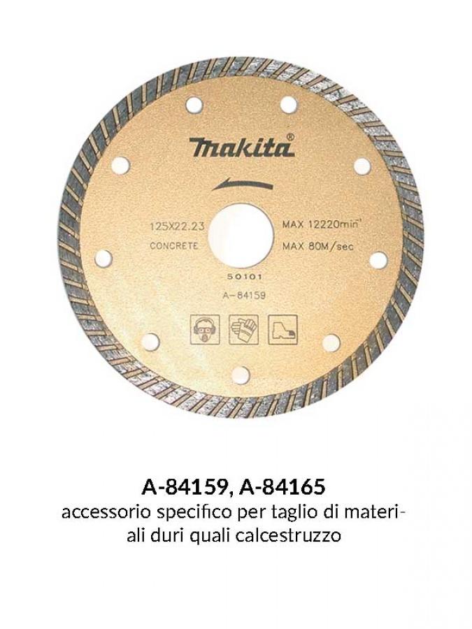 Disegno 1 disco diamantato con corona continua