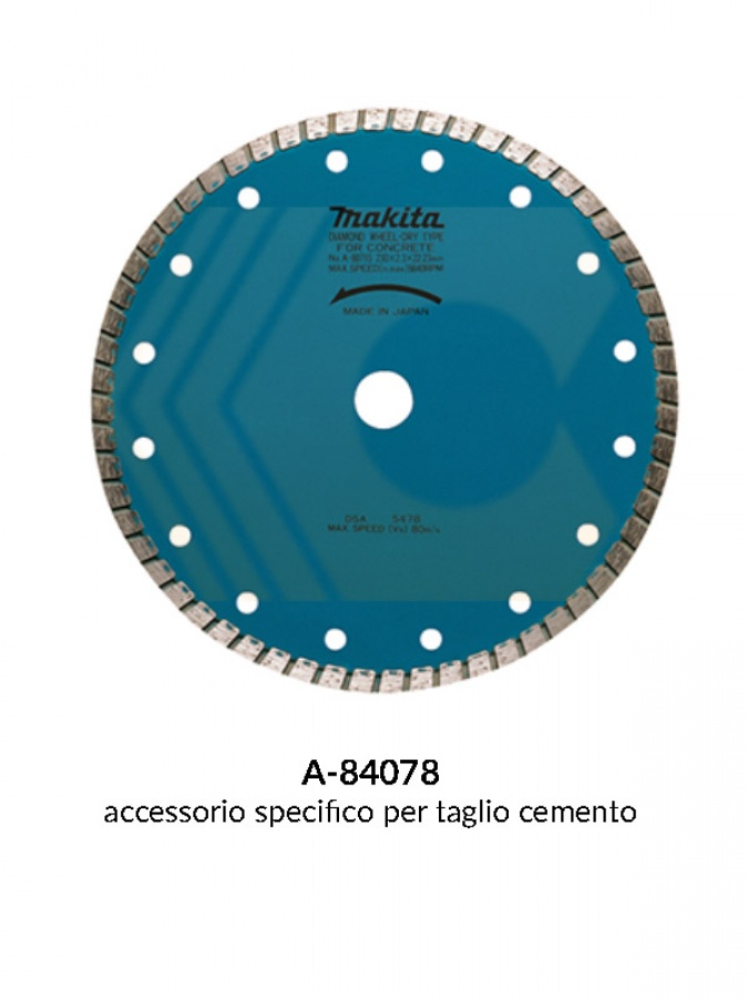 Disegno 3 disco diamantato con corona continua