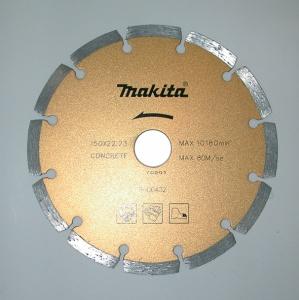 Disegno disco diamantato a settori per granito