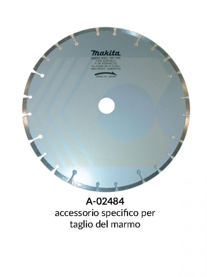 Disegno 1 disco diamantato a settori per mototroncatrice
