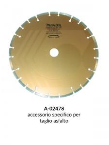 Disegno 3 disco diamantato a settori per mototroncatrice