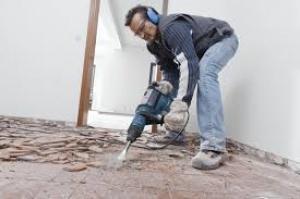 Utilizzo Martello demolitore rotativo Bosch GBH 8-45 DV