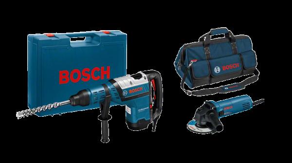 Kit Bosch GBH 8-45 D + GWS 850 C