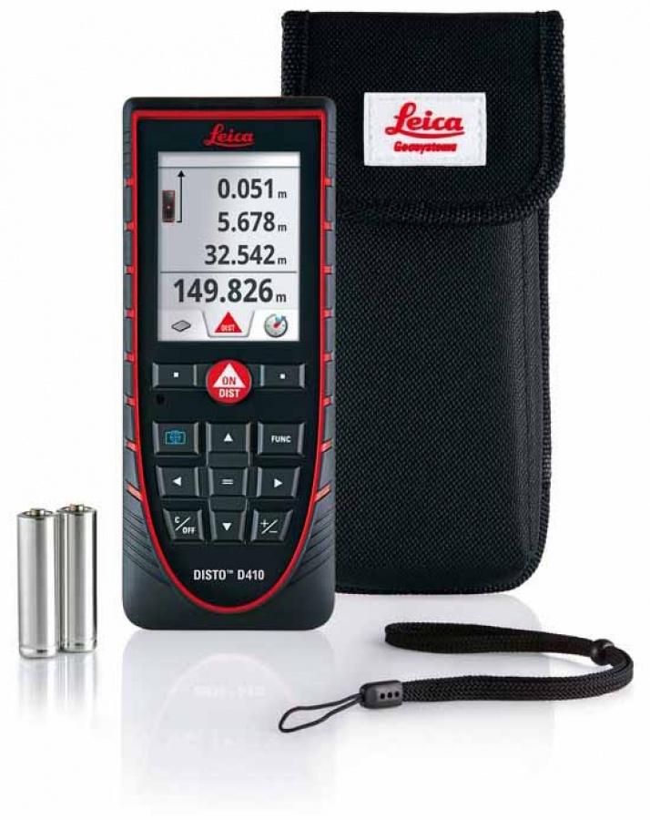 Misuratore laser Leica Disto D410