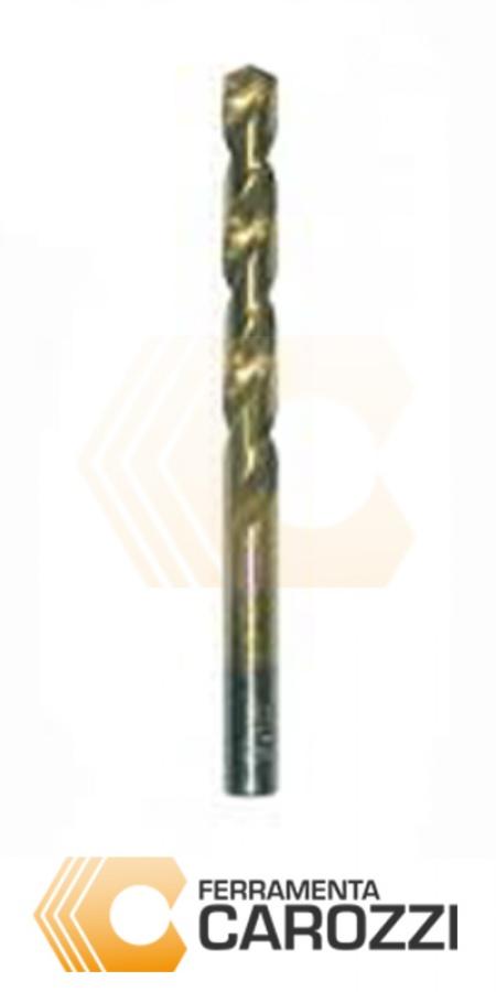 immagine Punta elicoidale cilindrica HSS TITANIO DIN 338 - 5pz