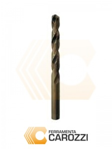 immagine Punta elicoidale cilindrica HSS COBALTO 5% lunga DIN 340 - 10pz