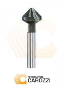 immagine Svasatore con 3 taglienti a 90° HSS DIN 335C con codolo cilindrico