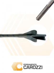 immagine Scalpello a sgorbia per muratura attacco SDS-MAX