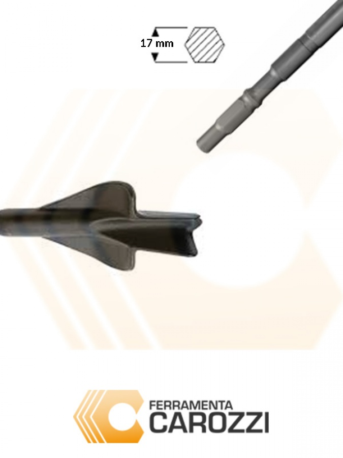 immagine Scalpello a sgorbia per muratura attacco Makita