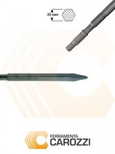 immagine Scalpello a punta attacco esagonale 30 mm