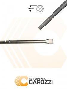 immagine Scalpello a punta larga attacco esagonale 30 mm