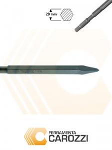 immagine Scalpello a punta attacco esagonale 28 mm