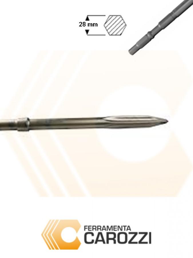 IMMAGINE Scalpello a punta autoffilante attacco esagonale 28 mm