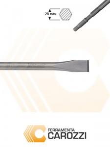 immagine Scalpello a punta larga attacco esagonale 28 mm