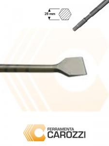immagine Scalpello a cucchiaio attacco esagonale 28 mm