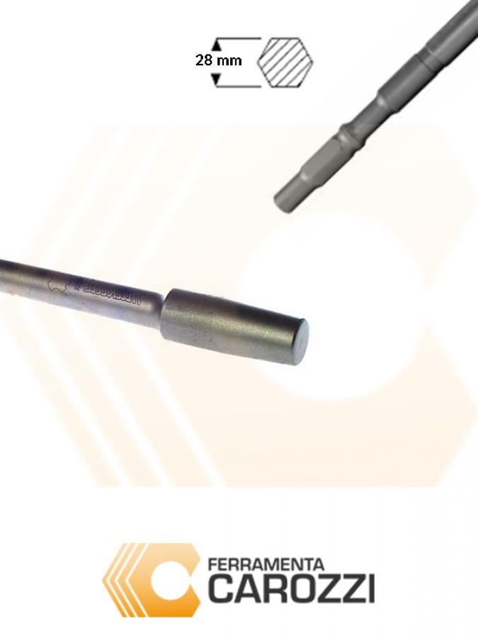 immagine Porta pestello attacco esagonale 28 mm