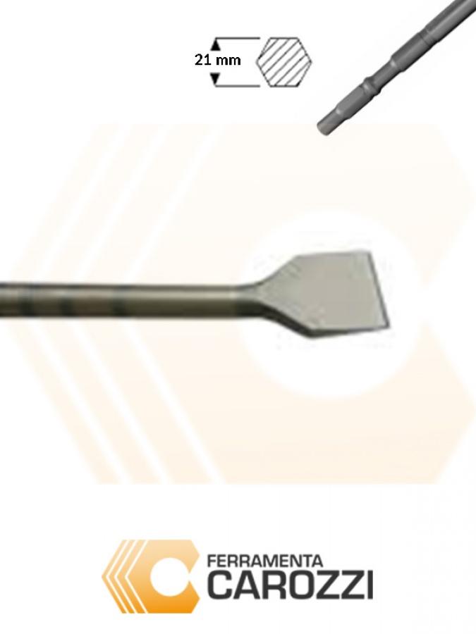 immagine Scalpello a cucchiaio attacco esagonale 21 mm