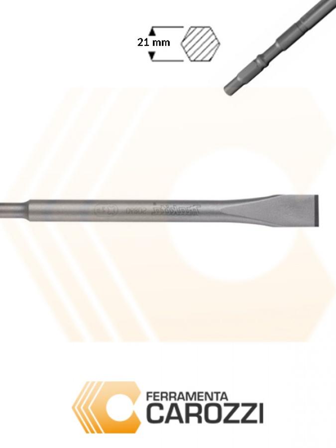 immagine Scalpello a punta larga attacco esagonale 21 mm