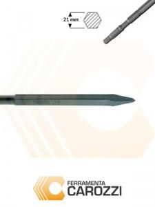 immagine Scalpello a punta attacco esagonale 21 mm
