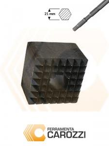 immagine Scalpello a bocciarda attacco esagonale 21 mm