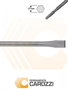 immagini Scalpello a punta larga attacco esagonale 19 mm