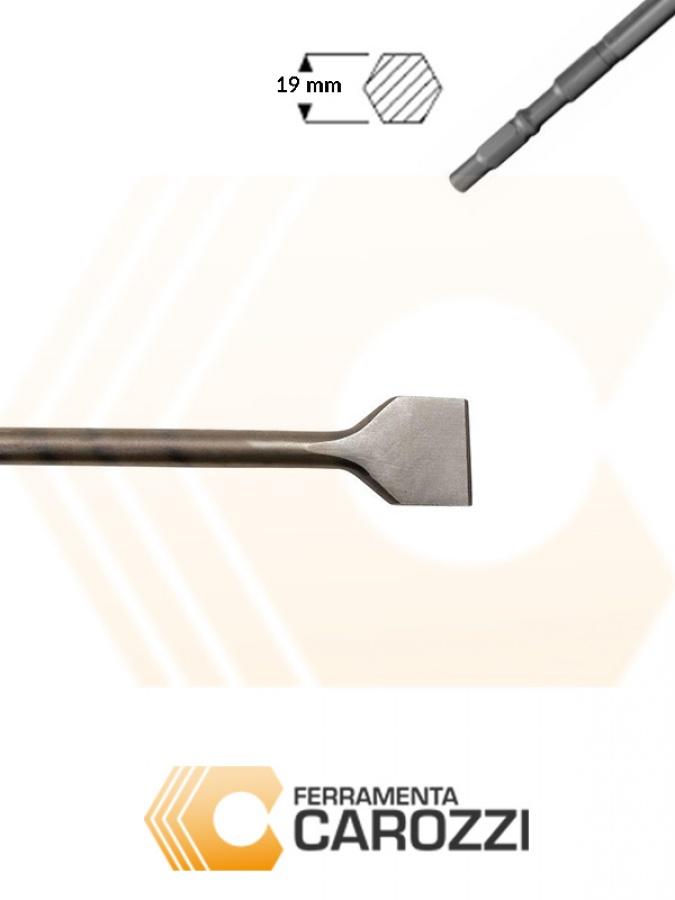 immagine Scalpello a cucchiaio attacco esagonale 19 mm