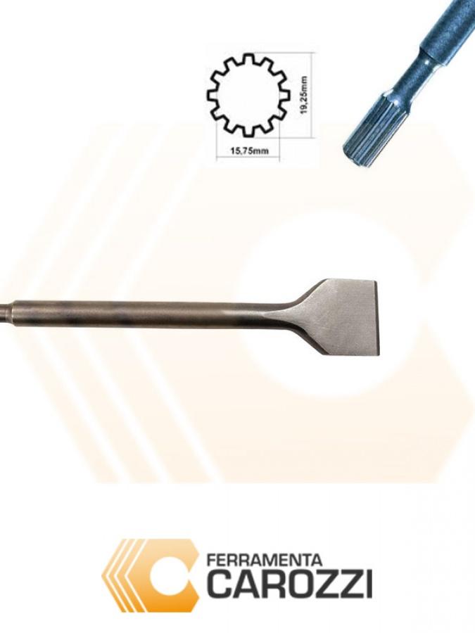immagine Scalpello a cucchiaio attacco millerighe