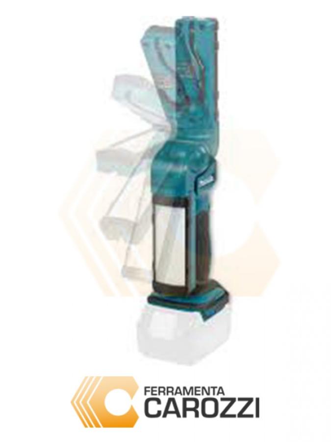immagine 2 Lampada a batteria estraibile con testa orientabile in 7 posizioni