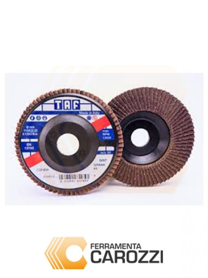 immagine Disco lamellare allo zirconio 115 mm serie Plus -5pz