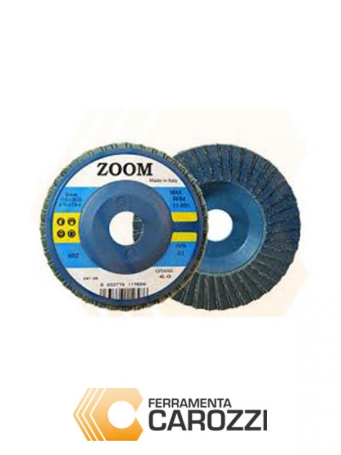 immagine Disco lamellare allo zirconio 115 mm serie Zoom -50pz