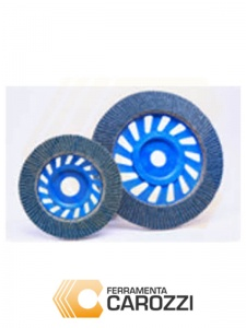 immagini Disco lamellare allo zirconio 115 mm serie Eolo -5pz