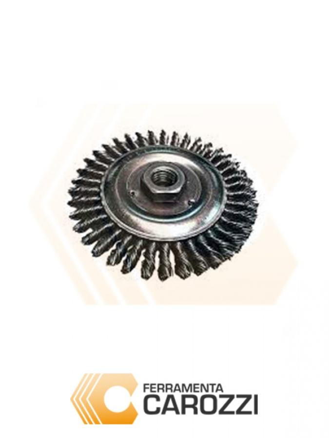 immagine 4 Spazzola a tazza filo acciaio